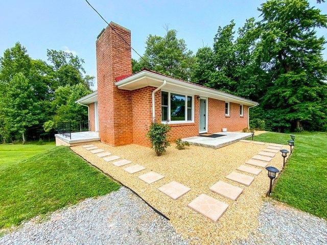Porch yard featured at 17296 Martinsville Hwy, Axton, VA 24054