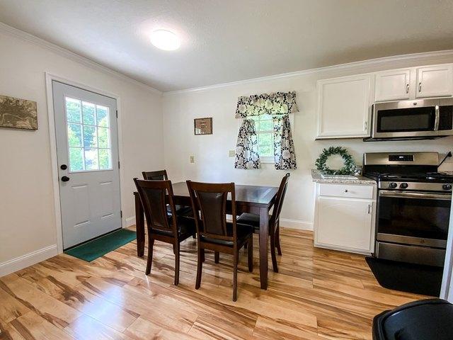 Dining room featured at 17296 Martinsville Hwy, Axton, VA 24054