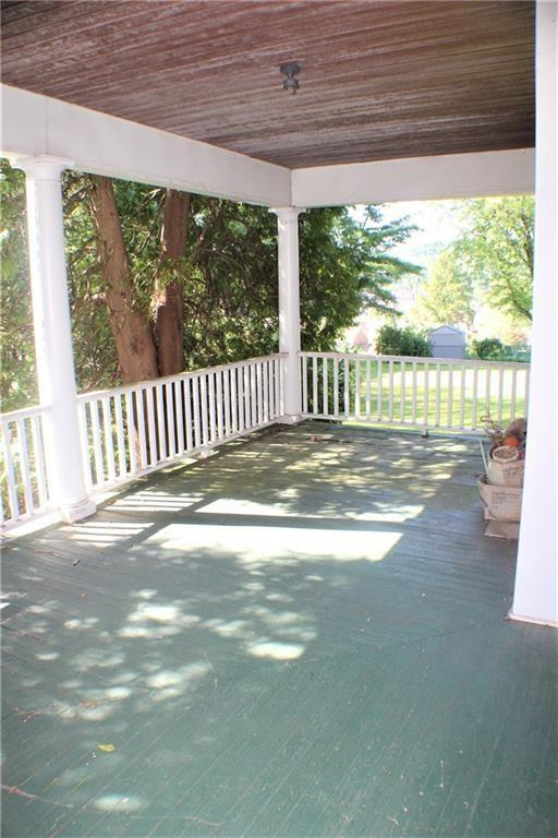 Porch featured at 511 Allegheny Ave, Avonmore, PA 15618
