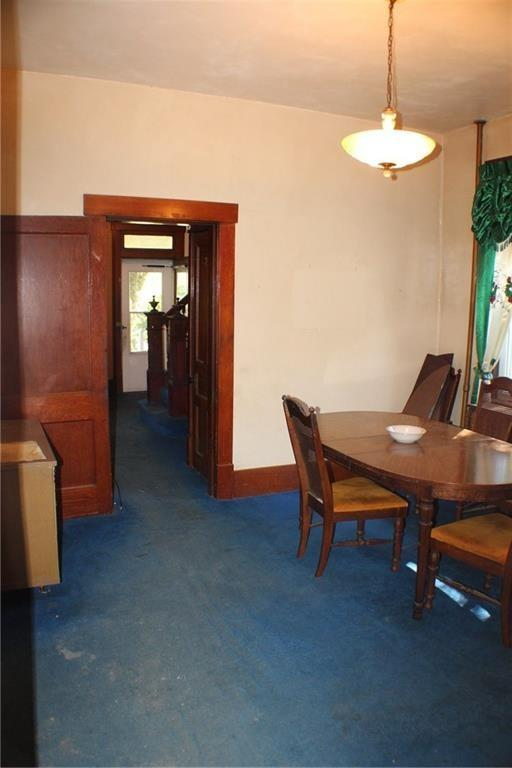 Dining room featured at 511 Allegheny Ave, Avonmore, PA 15618