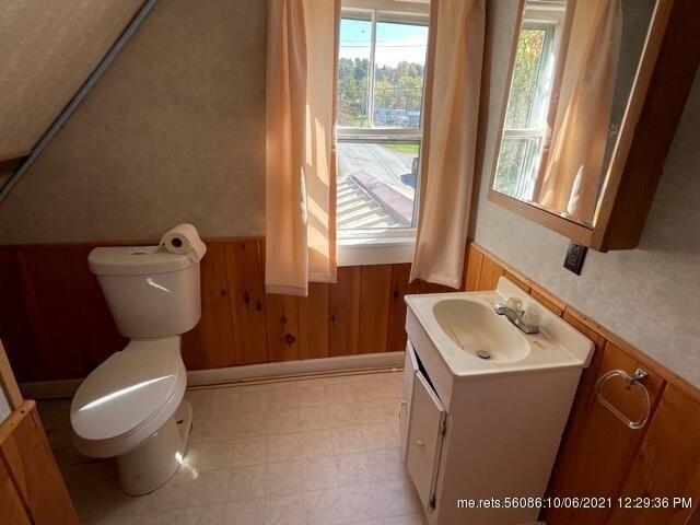 Bathroom featured at 39 S Factory St, Skowhegan, ME 04976