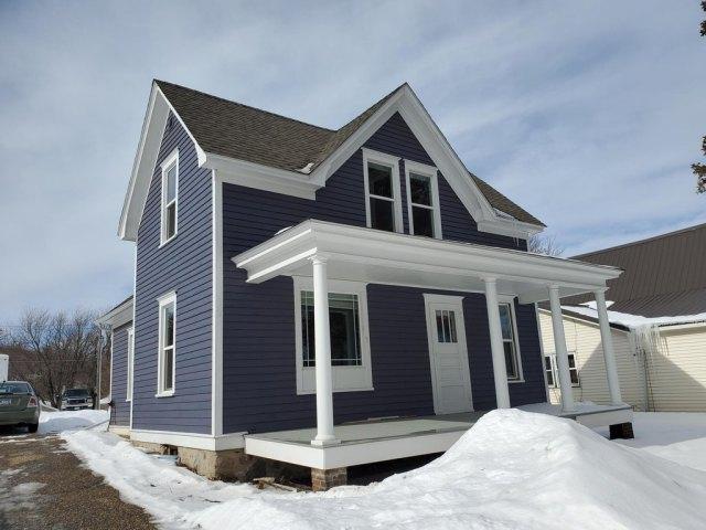 Porch featured at 220 Fremont St S, Lake Benton, MN 56149