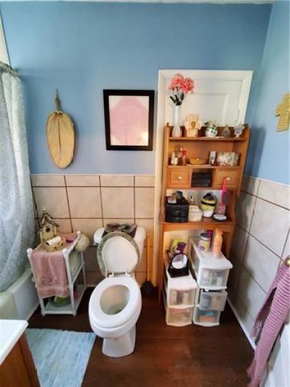 Bathroom featured at 217 W State St, Troy, KS 66087