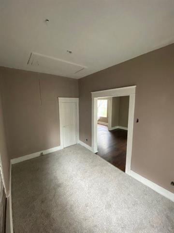 Bedroom featured at 61 S 11th St, Kansas City, KS 66102
