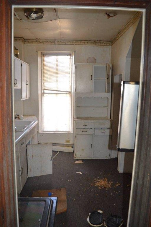 Kitchen featured at 218 W North St, Grayville, IL 62844