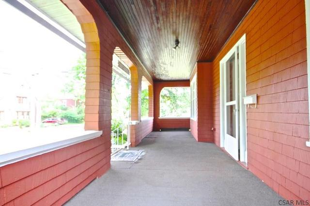 Porch featured at 415 Bucknell Ave, Johnstown, PA 15905