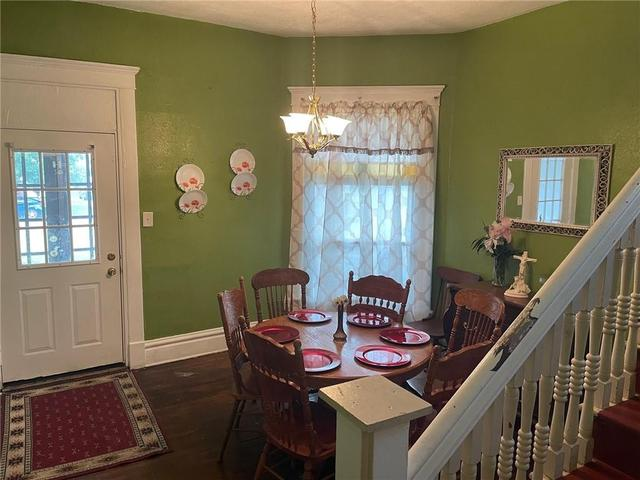 Dining room featured at 2075 E William St, Decatur, IL 62521