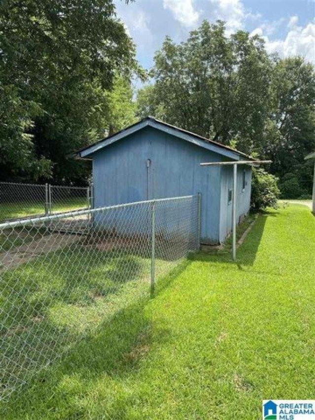 Yard featured at 234 Amory Ave, Cordova, AL 35550