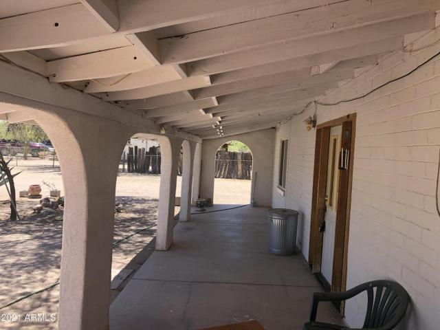 Porch featured at 3743 N Ajo Gila Bend Hwy, Ajo, AZ 85321