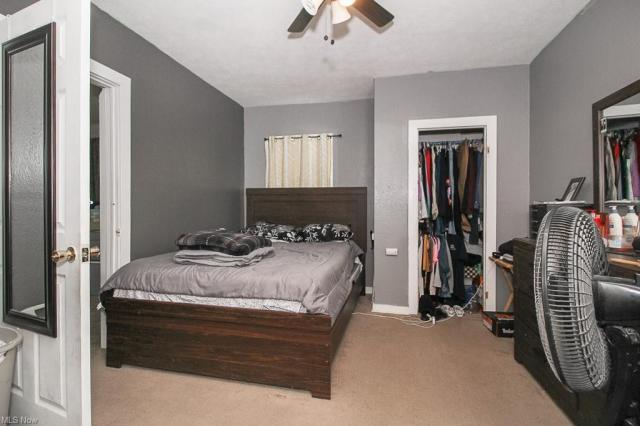 Bedroom featured at 321 W 8th St, Lorain, OH 44052