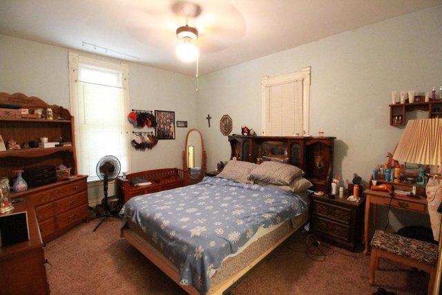 Bedroom featured at 217 NE 4th St, Abilene, KS 67410