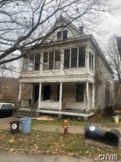 Porch yard featured at 75-77 Petrie St, Little Falls, NY 13365