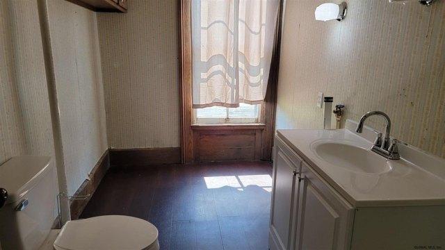 Bathroom featured at 29 Reid St, Fort Plain, NY 13339