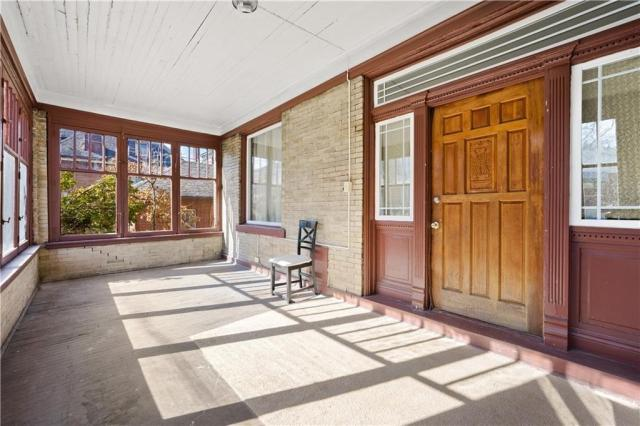 Porch featured at 1351 Hay St, Pittsburgh, PA 15221