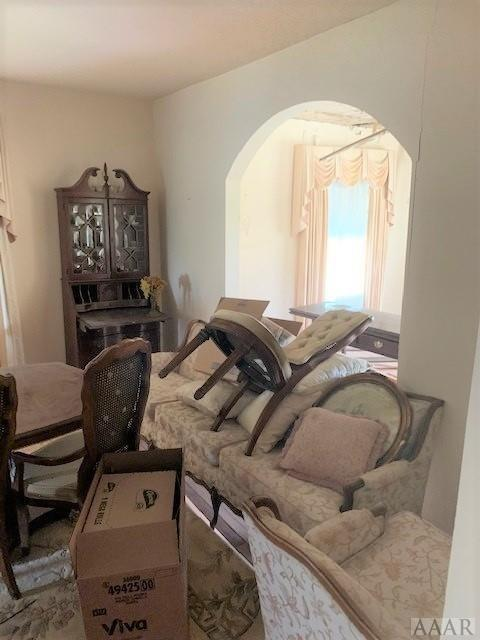 Living room featured at 2507 N Highway 45, Colerain, NC 27924