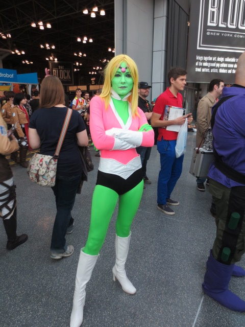 Best Cosplayer of the Show, which is crazy because I don't even read Legion of Superheroes