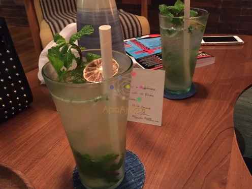 Our fresh mojito, Thank you Bartender!
