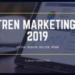 tren marketing 2019