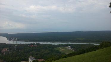 Pemandangan di puncak