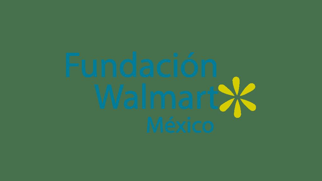 Logo Fundación Walmart México