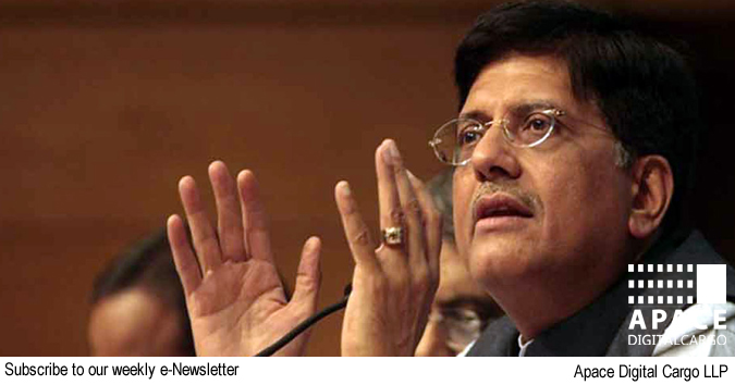 National Logistics Policy to soon be released, says Piyush Goyal