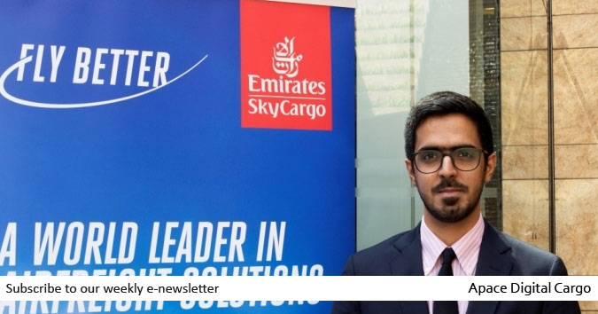 Abdulla Alkhallafi appointed as new Indian cargo manager of Emirates SkyCargo