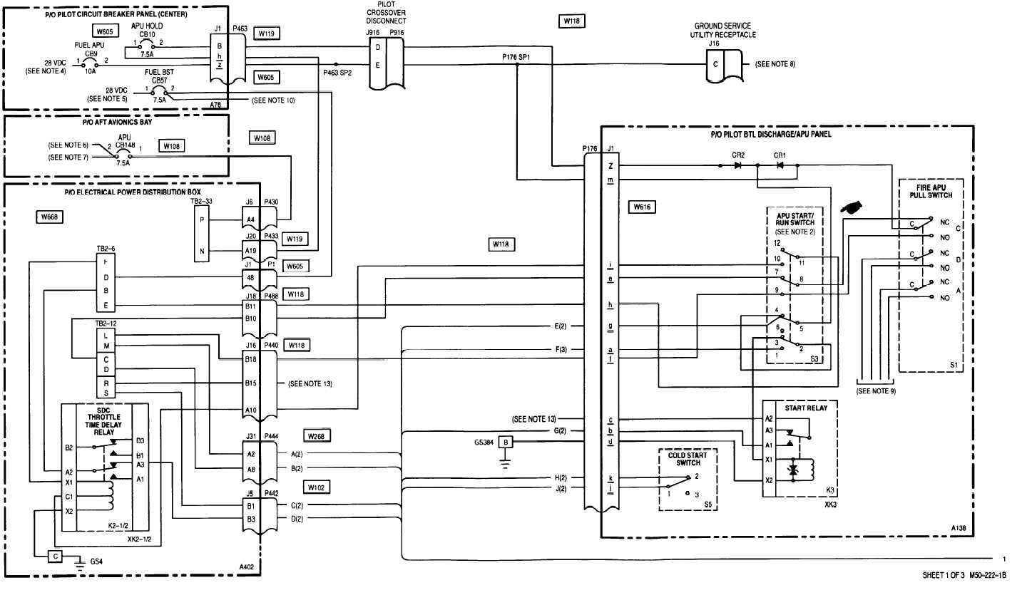 Sheet 1 Of 3 M50 222 1b