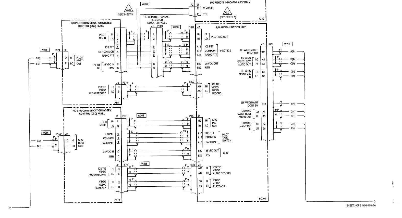 Sheet 3 Of 5 M50 158 3a