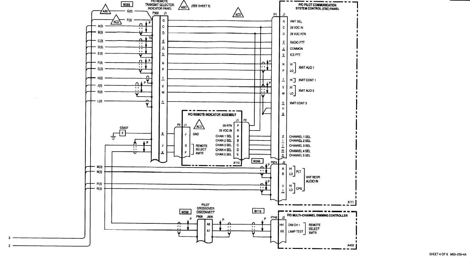 Sheet 4 Of 6 M50 250 4a