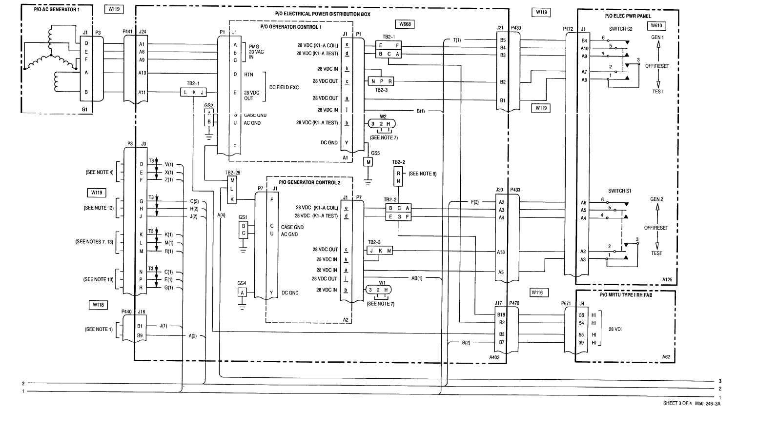 Sheet 3 Of 4 M50 246 3 A