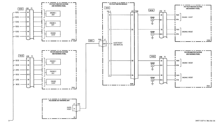 Sheet 13 Of 14 M50 256 13a
