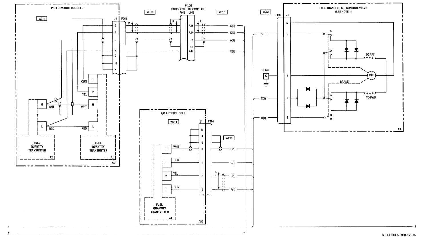 13 3 Fuel Quantity Indication Transfer Wiring Diagram
