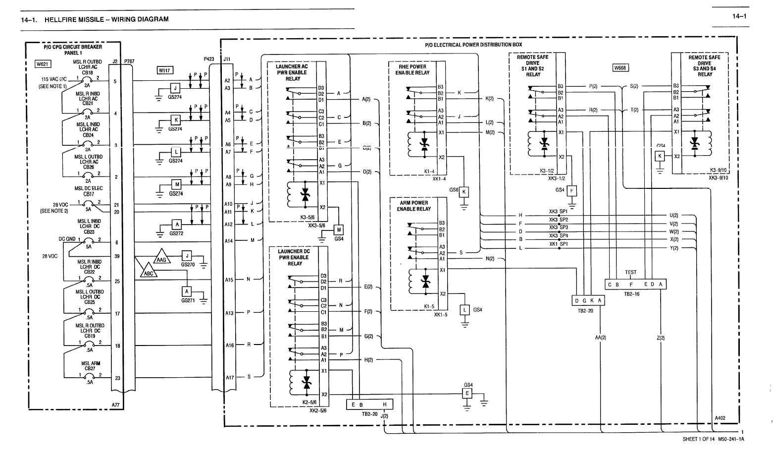 14 1 Hellfire Missile Wiring Diagram