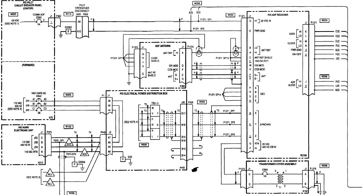 20 6 Automatic Direction Finder Adf An Arn 149 Wiring Diagram