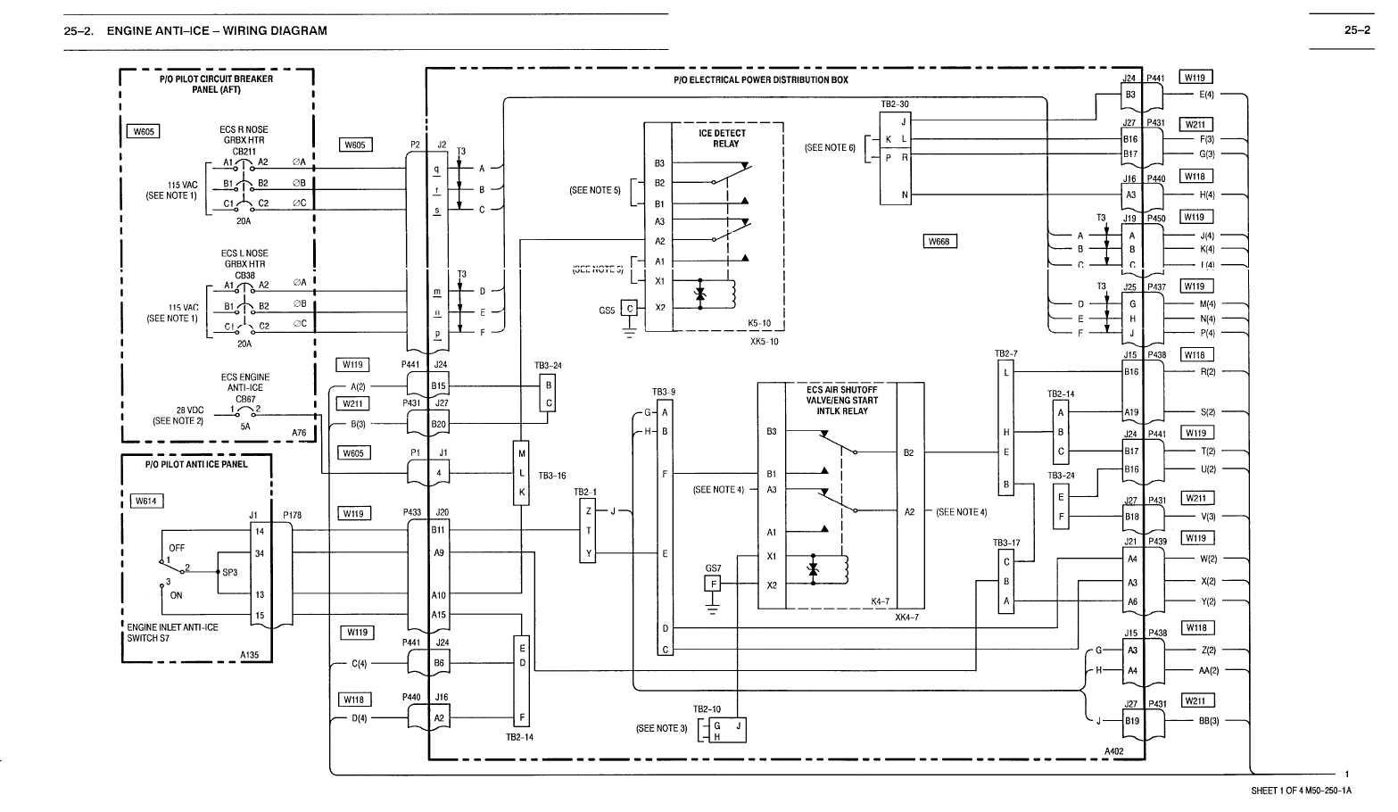 25 2 Engine Anti Ice Wiring Diagram