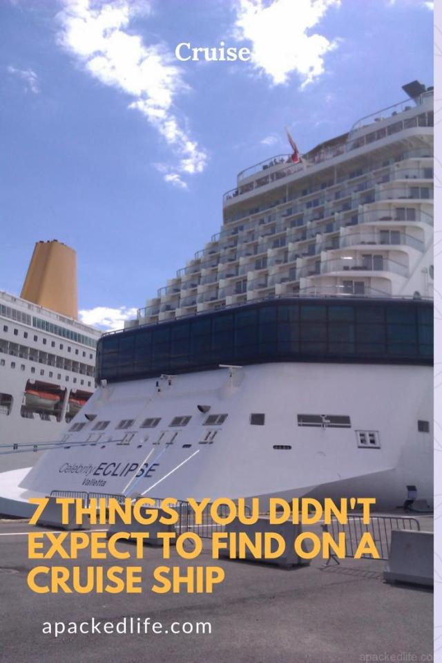 7 Things You Didn't Expect To Find On A Cruise Ship