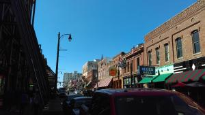 The calm that is Beale Street, Memphis, by day
