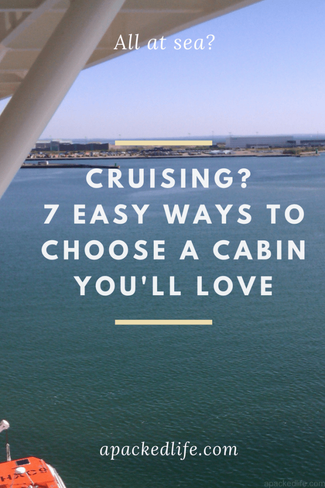 Cruise: 7 easy ways to choose a cabin you'll love