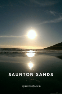 Sea Fever - Saunton Sands Setting Sun Over Sea - Just another perfect sunset