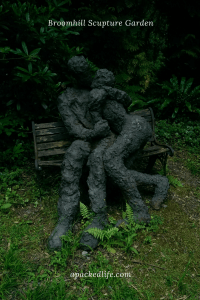Broomhill Sculpture Garden - Sophie White's The Lovers