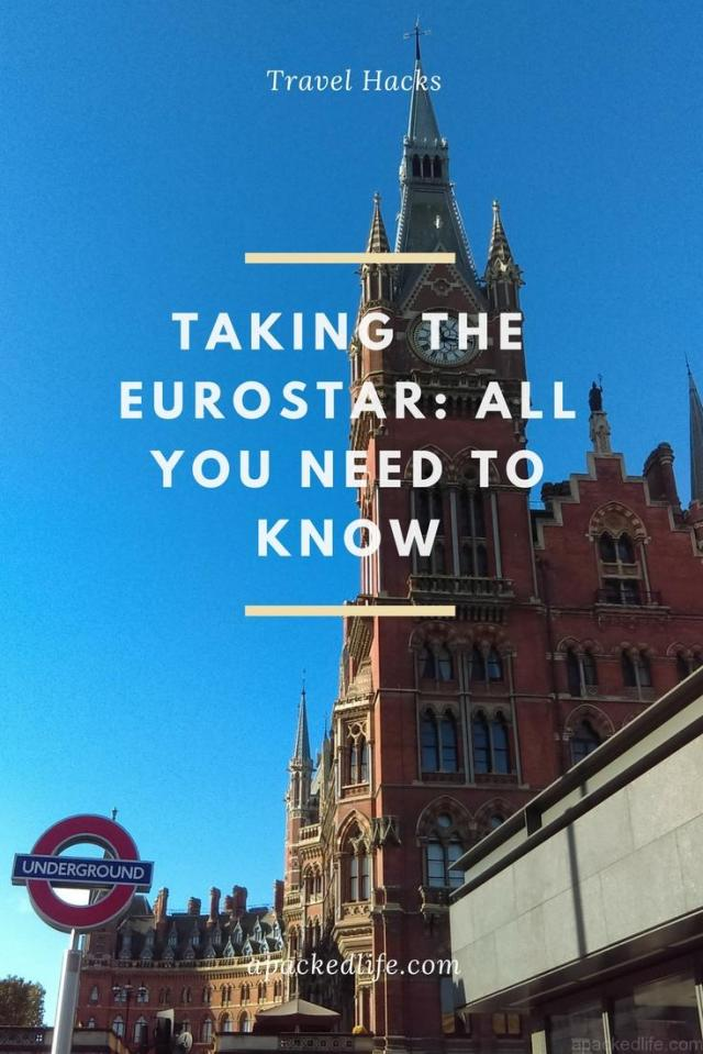 Taking The Eurostar - All You Need To Know - St Pancras