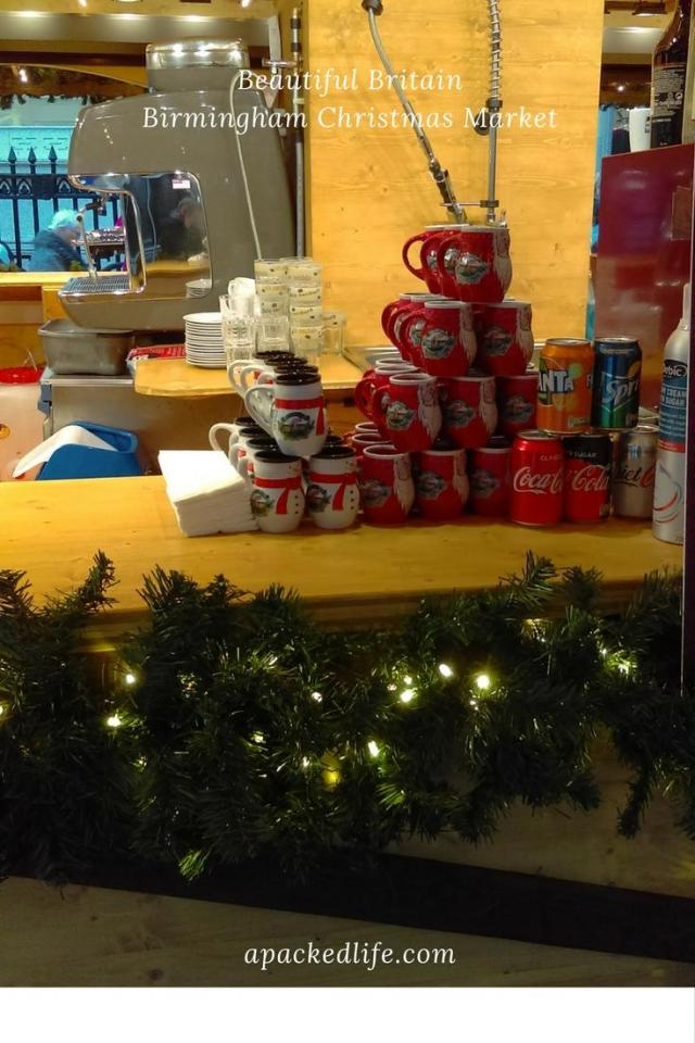 Birmingham Christmas Market - Hot Chocolate Mugs