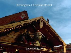 Birmingham Christmas Market - Santa stall