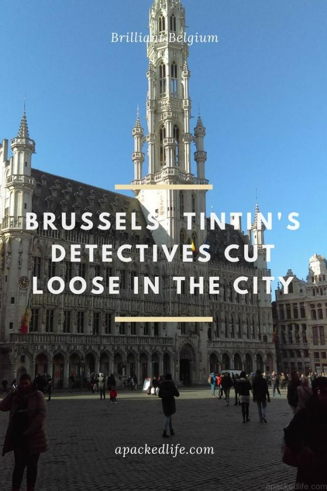Brussels - Tintin's Detectives Cut Loose In The City