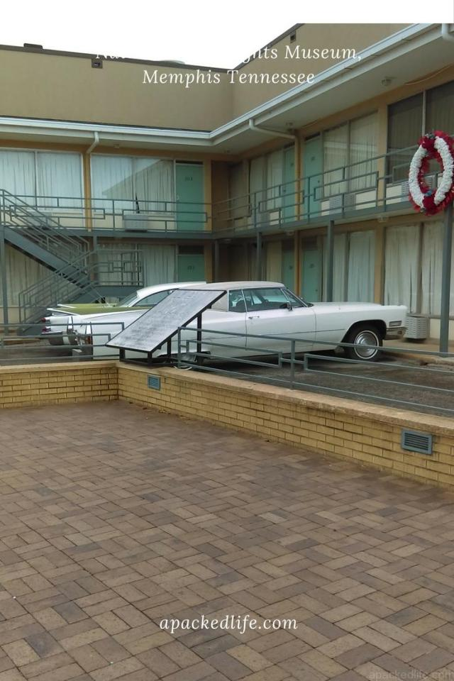 National Civil Rights Museum - Car Parked Outside the Lorraine Motel
