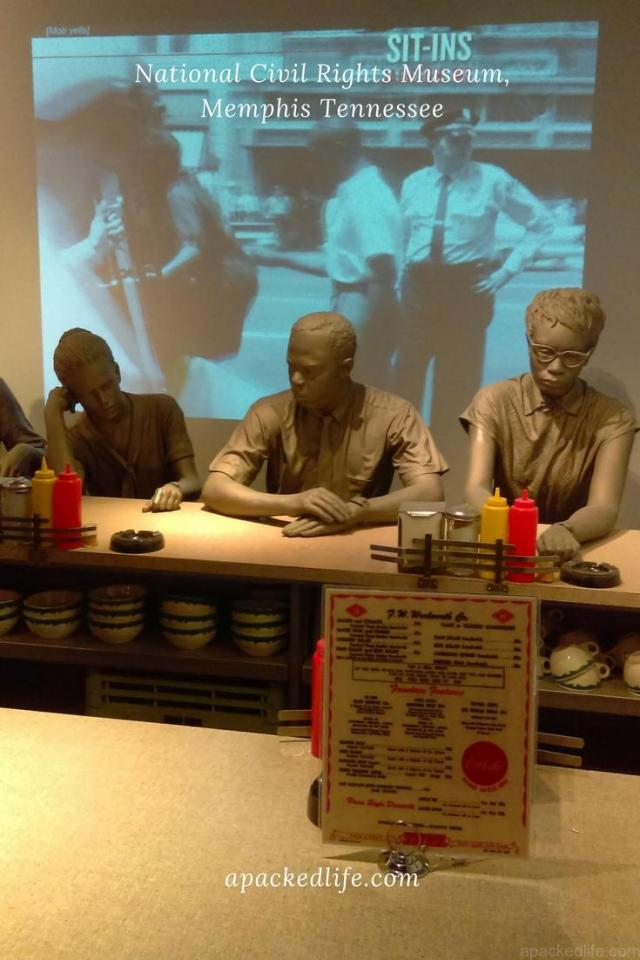 National Civil Rights Museum - The Lunch Counter