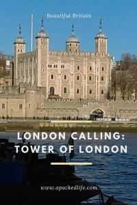 London Calling Shad Thames Tower of London