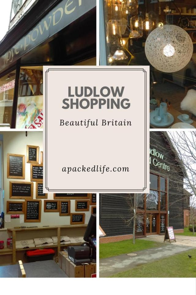 Historic Ludlow - Exploring the charming foodie town - shopping