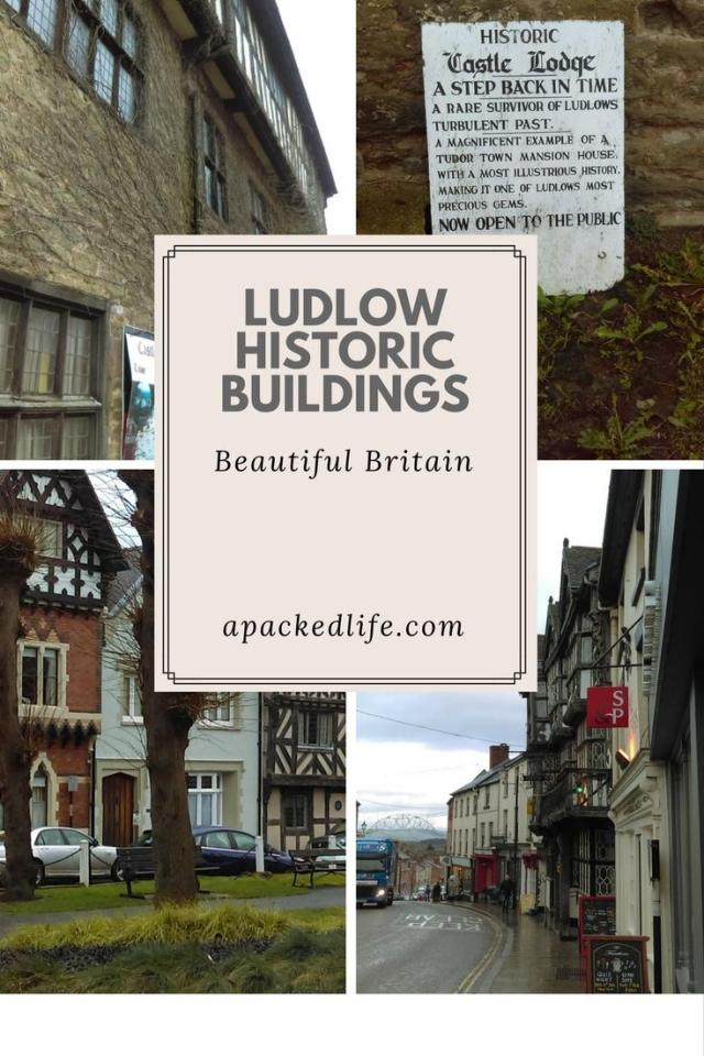Historic Ludlow - exploring the charming foodie town - historic buildings