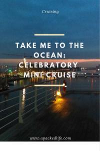 Take Me To The Ocean - Celebratory Mini Cruise - Sunrise Amsterdam
